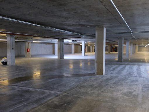 Automobilių stovėjimo aikštelės betonavimas bei hidroizoliacija